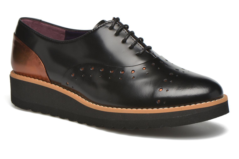 Chaussures à lacets Anaki Marguerite Noir vue détail/paire