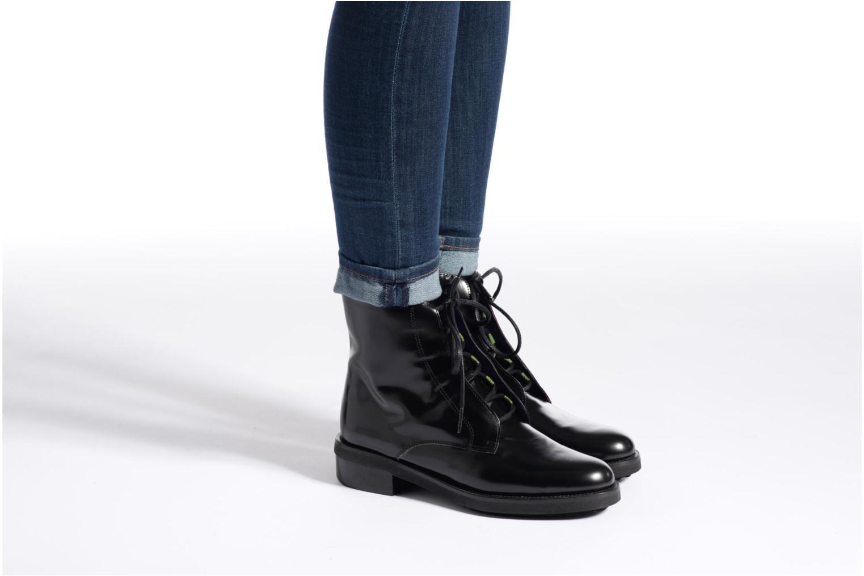 Bottines et boots Anaki Jo Bleu vue bas / vue portée sac