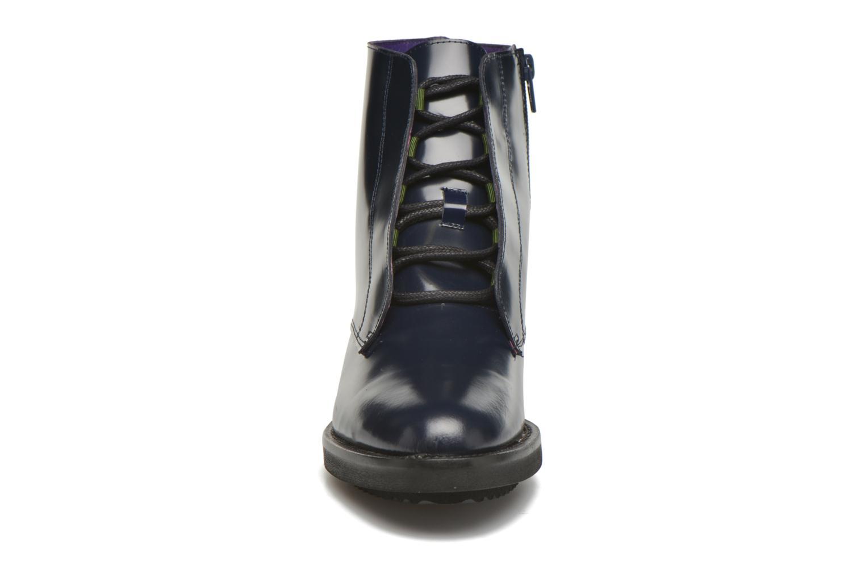Bottines et boots Anaki Jo Bleu vue portées chaussures