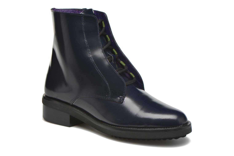 Bottines et boots Anaki Jo Bleu vue détail/paire