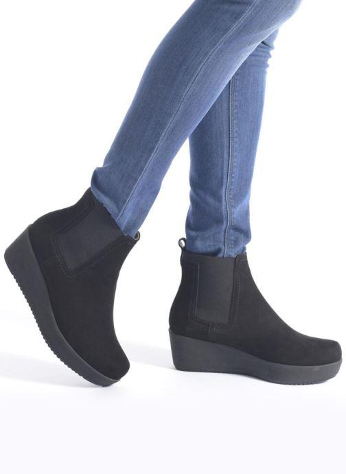 Fara Et Black Bottines Boots Kid Unisa Suede nOk80wPX