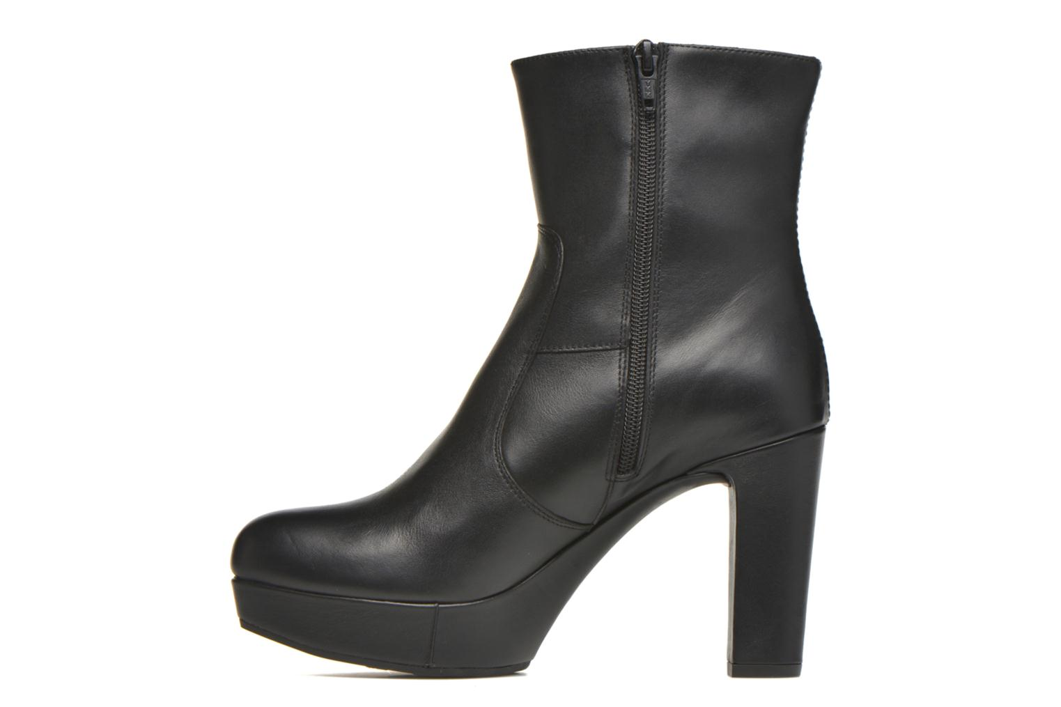 Bottines et boots Unisa Richar Noir vue face