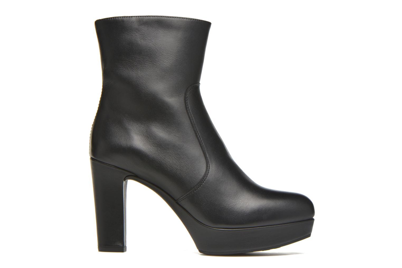 Bottines et boots Unisa Richar Noir vue derrière