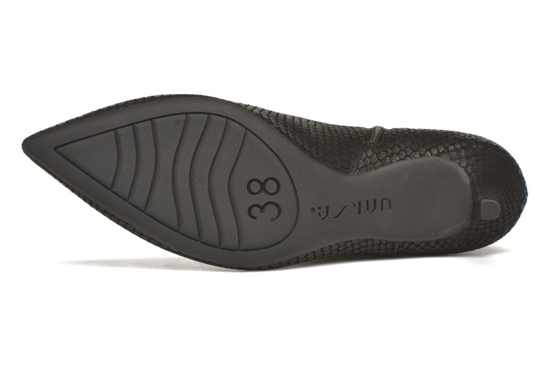 Bottines et boots Unisa Kirova Noir vue haut