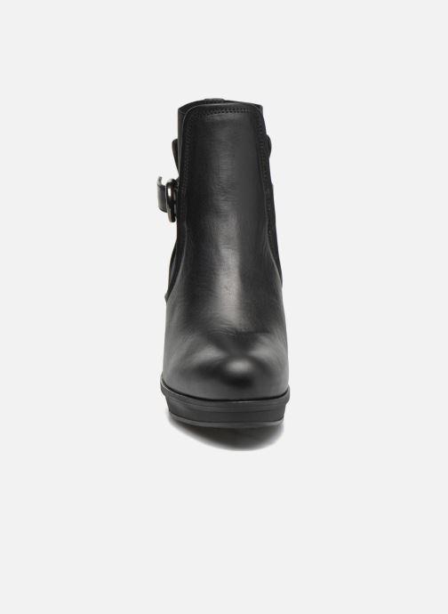 Bottines et boots Unisa Machu Noir vue portées chaussures