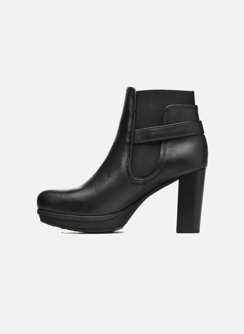 Bottines et boots Unisa Machu Noir vue face