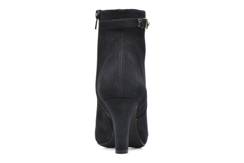 Bottines et boots Unisa Nave Bleu vue droite