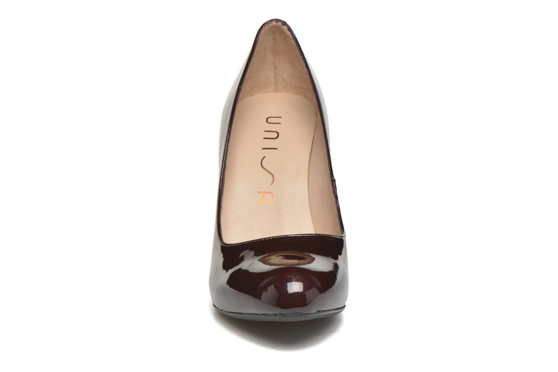 Escarpins Unisa Patty Bordeaux vue portées chaussures