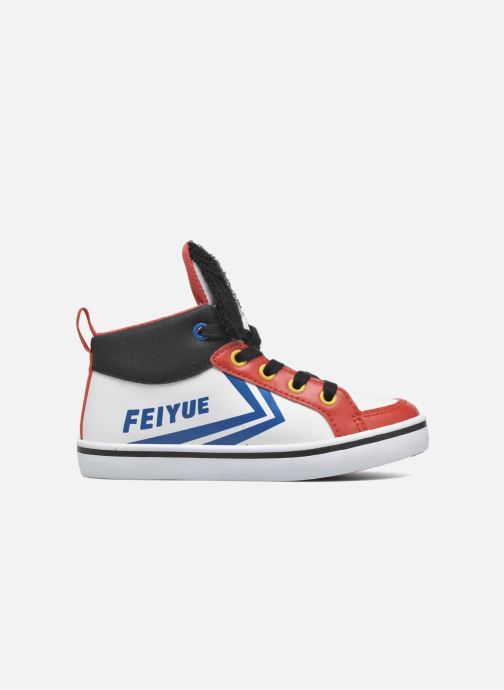 Trainers Feiyue Delta Mid Peanuts White back view