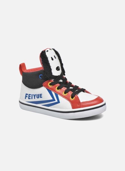 Trainers Feiyue Delta Mid Peanuts White detailed view/ Pair view