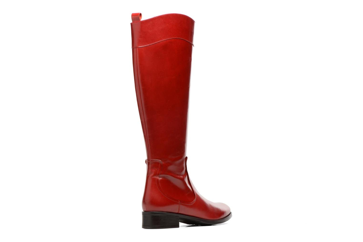 Boots & wellies Made by SARENZA Boots Camp #15 Red front view