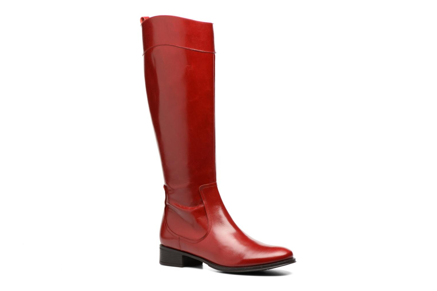 Boots & wellies Made by SARENZA Boots Camp #15 Red view from the right