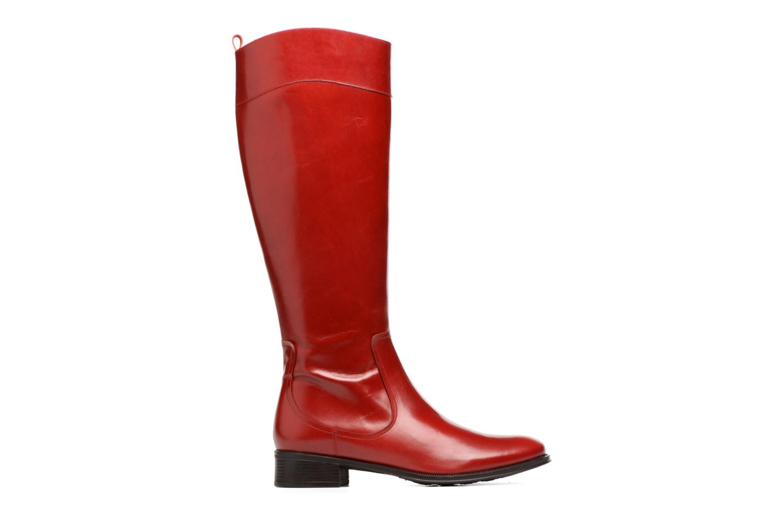 Boots & wellies Made by SARENZA Boots Camp #15 Red detailed view/ Pair view