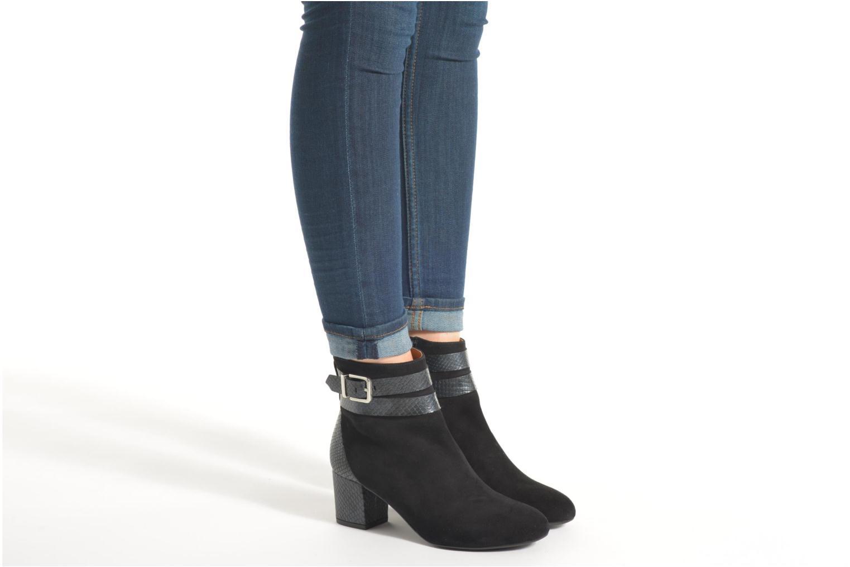 Bottines et boots Made by SARENZA See Ya Topanga #11 Noir vue bas / vue portée sac