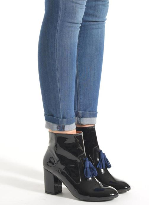 Ankle boots Made by SARENZA Winter Freak #5 Black view from underneath / model view
