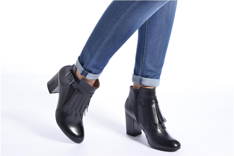 Bottines et boots Made by SARENZA Queens Cross #3 Noir vue bas / vue portée sac