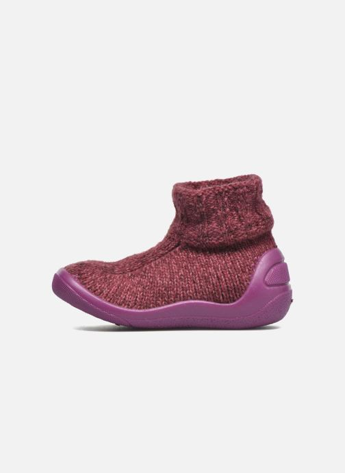 Chaussons Bopy Atrico Rose vue face