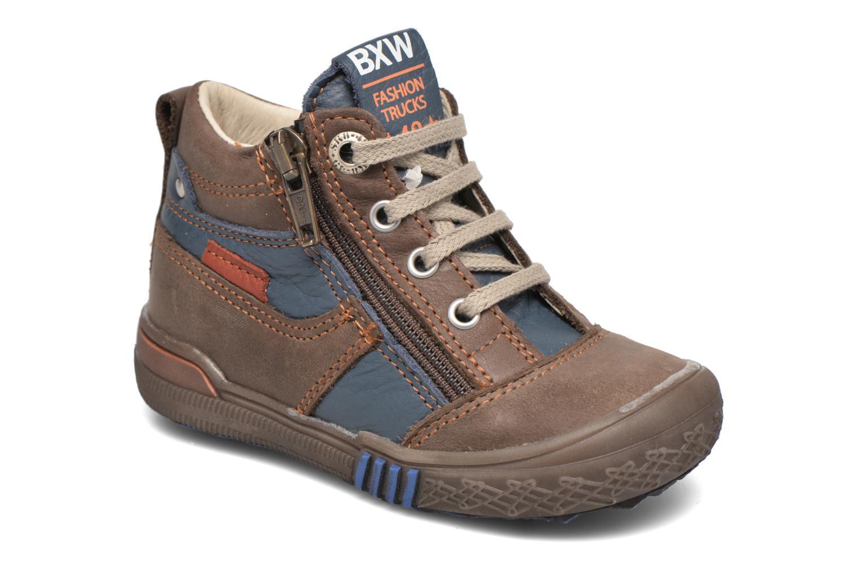 Boots en enkellaarsjes Bopy Benur Bruin detail