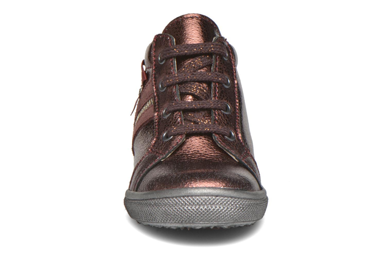Chaussures à lacets Bopy Bobade Bordeaux vue portées chaussures