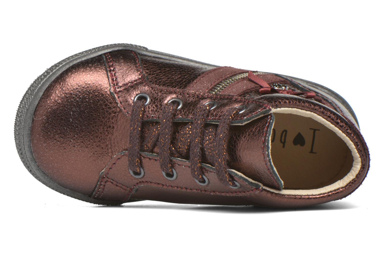 Chaussures à lacets Bopy Bobade Bordeaux vue gauche