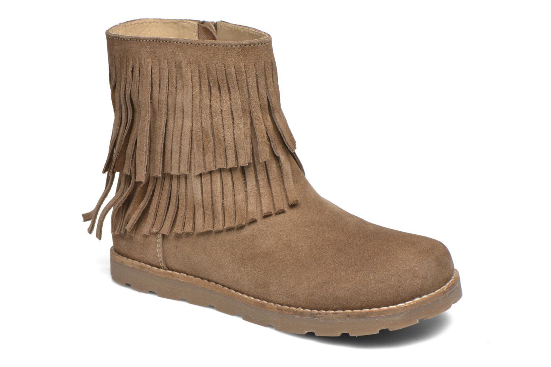 Bottines et boots Bopy Haro Marron vue détail/paire
