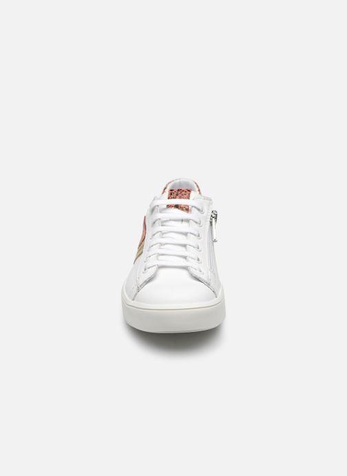 Bottes Bopy Saraba Blanc vue portées chaussures