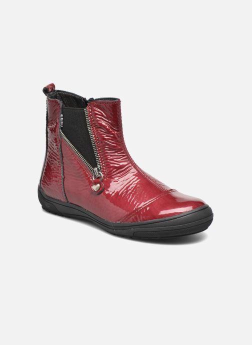 Ankelstøvler Bopy Sazap Bordeaux detaljeret billede af skoene
