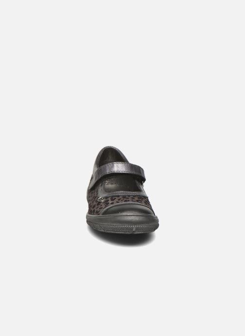 Ballerines Bopy Seo Gris vue portées chaussures