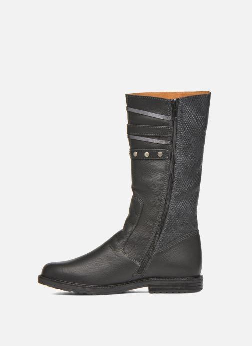 Støvler & gummistøvler Bopy Slogan Sort se forfra