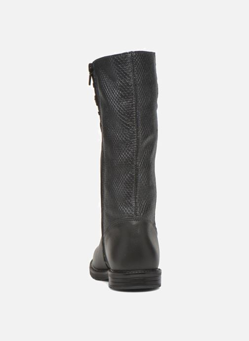Støvler & gummistøvler Bopy Slogan Sort Se fra højre