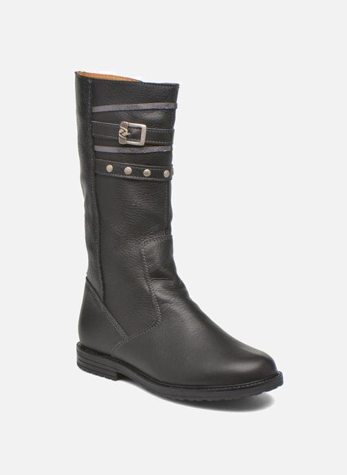 Støvler & gummistøvler Bopy Slogan Sort detaljeret billede af skoene