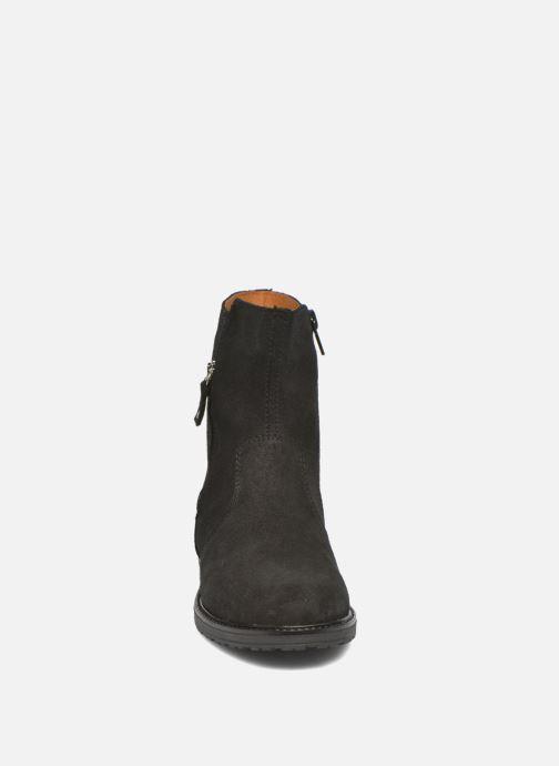 Bottes Bopy Sokada Noir vue portées chaussures