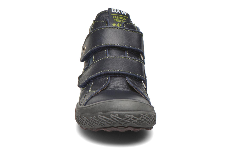 Baskets Bopy Vagovel Bleu vue portées chaussures