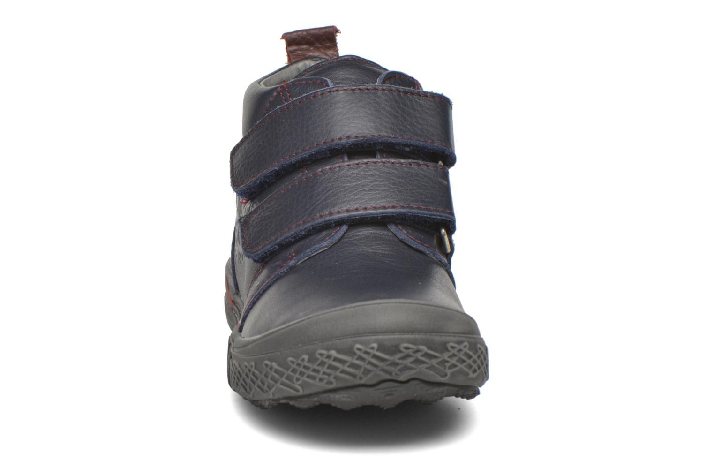 Chaussures à scratch Bopy Vayon Bleu vue portées chaussures