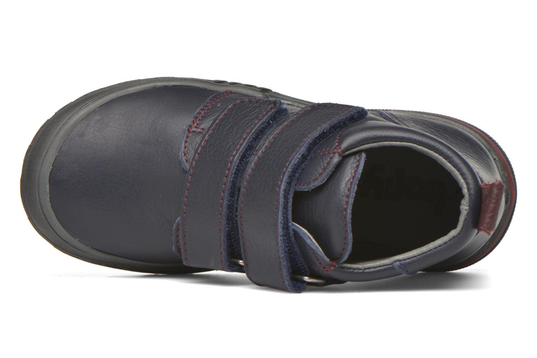 Chaussures à scratch Bopy Vayon Bleu vue gauche