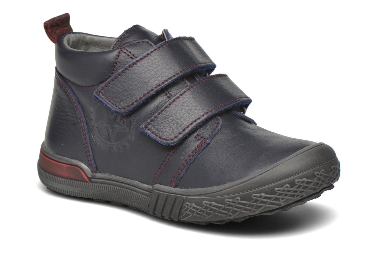 Chaussures à scratch Bopy Vayon Bleu vue détail/paire