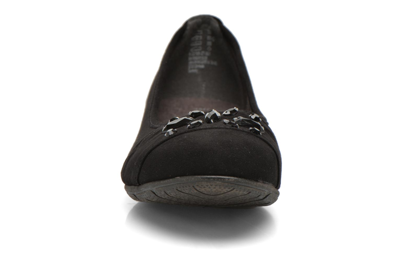 Ballerine Jana shoes Ammi Nero modello indossato