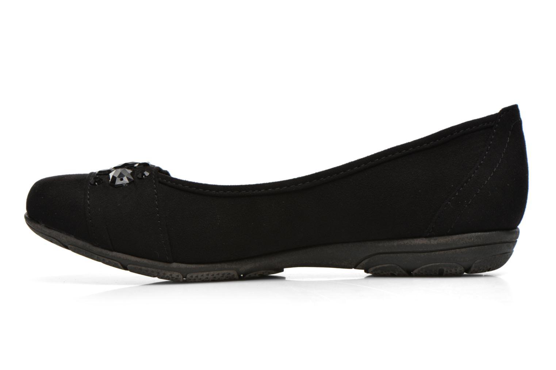 Ballerine Jana shoes Ammi Nero immagine frontale