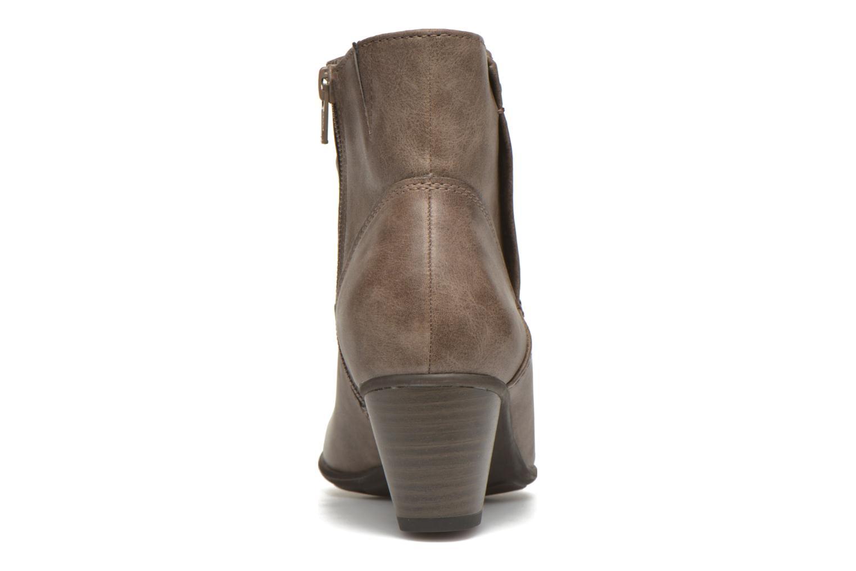 Bottines et boots Jana shoes Gentiane Beige vue droite