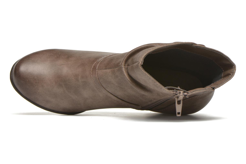 Bottines et boots Jana shoes Gentiane Beige vue gauche