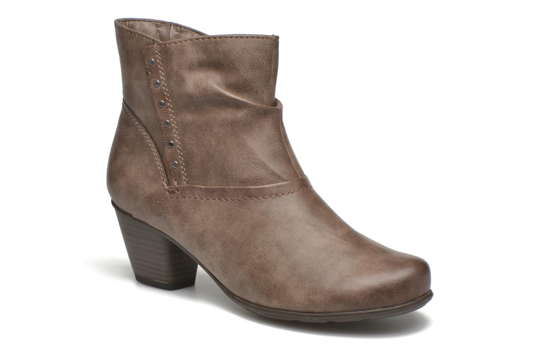 Bottines et boots Jana shoes Gentiane Beige vue détail/paire