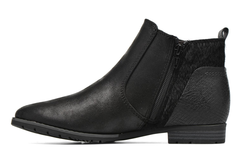 Bottines et boots Jana shoes Vesce Noir vue face