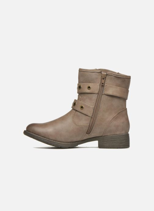 Ankle boots Jana shoes Monarde Beige front view