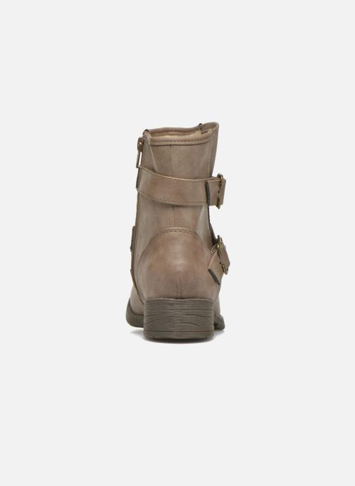 Ankle boots Jana shoes Monarde Beige view from the right