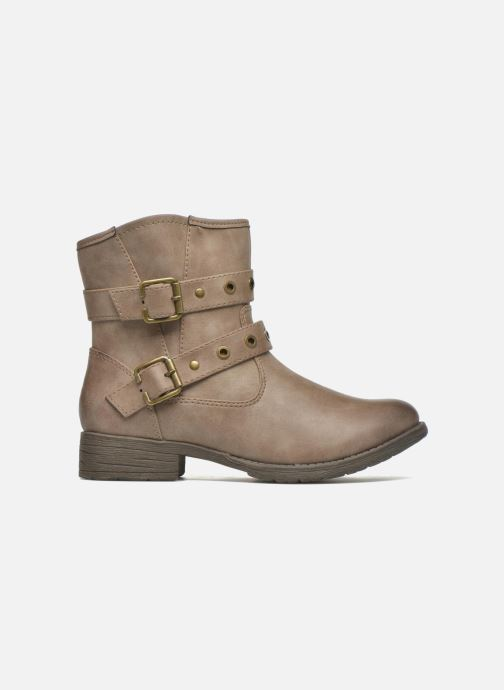 Ankle boots Jana shoes Monarde Beige back view