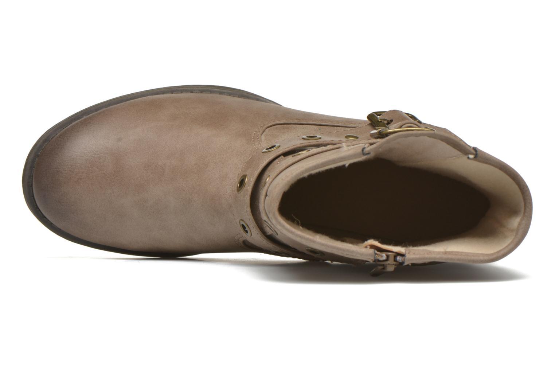 Botines  Jana shoes Monarde Beige vista lateral izquierda
