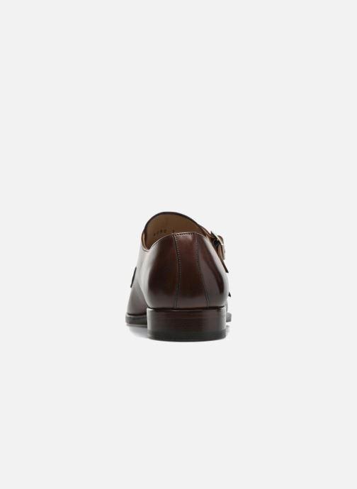 Mocassins Marvin&Co Luxe Witruck - Cousu Goodyear Marron vue droite