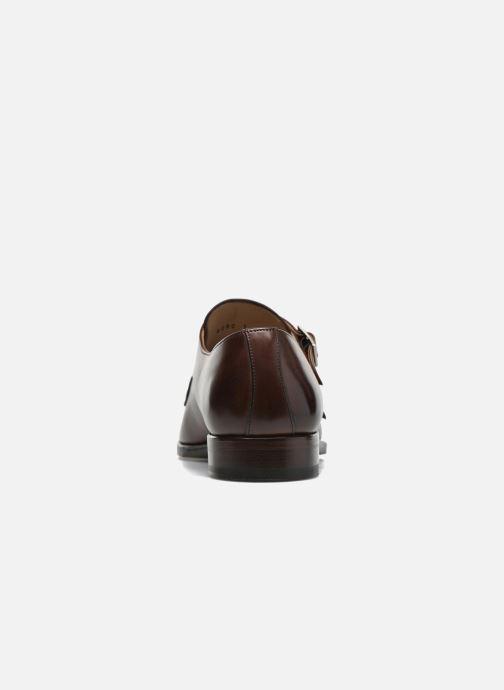 Zapato con hebilla Marvin&Co Luxe Witruck - Cousu Goodyear Marrón vista lateral derecha
