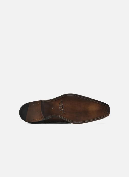 Zapato con hebilla Marvin&Co Luxe Witruck - Cousu Goodyear Marrón vista de arriba