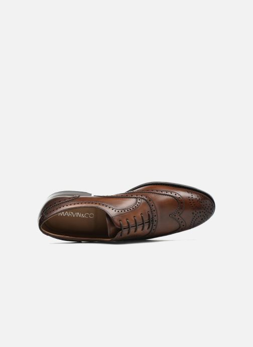 Lace-up shoes Marvin&Co Luxe Waster - Cousu Goodyear Brown view from the left